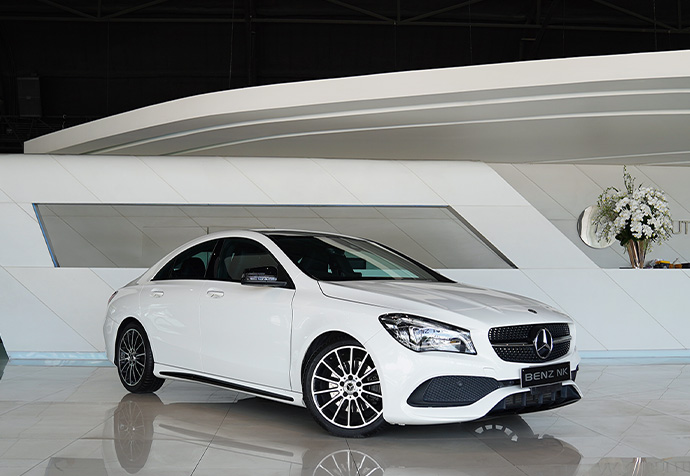 CLA250 AMG Facelift White Art Edition Mercedes Benz
