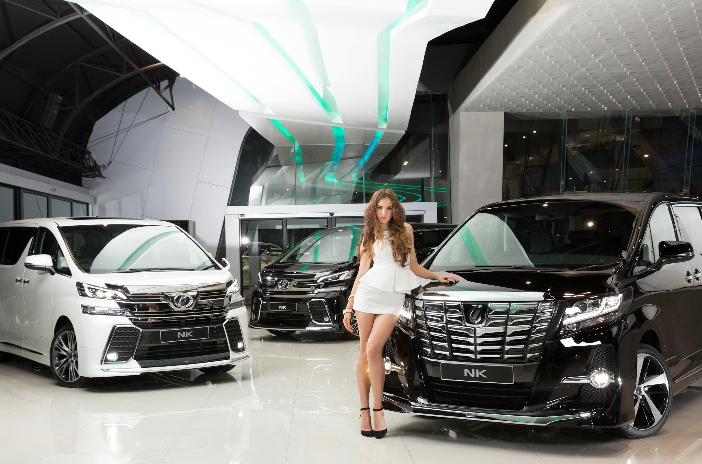 Benz Nk New Alphard Amp Vellfire Modellista Complete Car