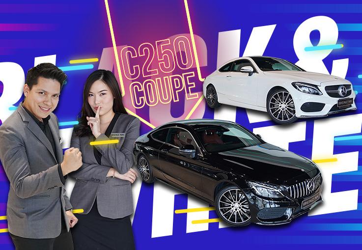 อยากขับเบนซ์สปอร์ตต้องได้ขับ! Live วันนี้จัด C250 Coupe AMG มาให้ชม 2 รุ่น 2 สี เริ่มเพียง 2.49 ล้าน